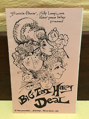 Cloth Doll Hair Style Making Instructional Booklet 'Big Fat Hairy Deal'