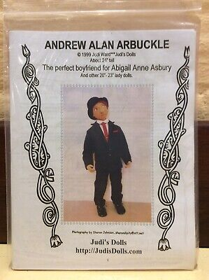 Cloth Doll Sewing Pattern 'Andrew Alan Arbuckle' By Judi Ward