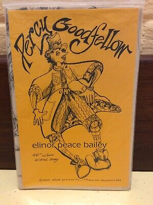 Cloth Doll Sewing Pattern 'Percy Goodfellow' By Elinor Peace Bailey