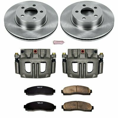 Powerstop Brake Disc and Caliper Kits 2-Wheel Set Front for Toyota KCOE2419