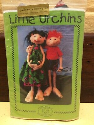 Cloth Doll Sewing Pattern 'Little Urchins' By Jane Coughlan