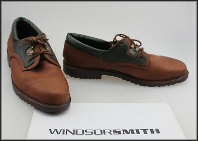 Windsor Smith Mens Vintage Two Tone Lace Up  Shoes Size 12