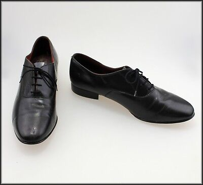Carlo Rossi Mens Vintage Designer Leather Lace Up Dress Shoes Size 11.5