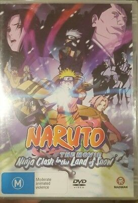 Naruto The Movie Ninja Clash In The Land Of Snow Rare Dvd Anime Animation *New*