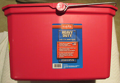 Harper 19 Qt Heavy-Duty Double Bucket~Cleaning~Organizer Supplies Tote~ Lot of 6