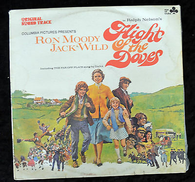 Flight of The Doves - 1971 Original Movie Soundtrack LP - Jack Wild - Ron Moody