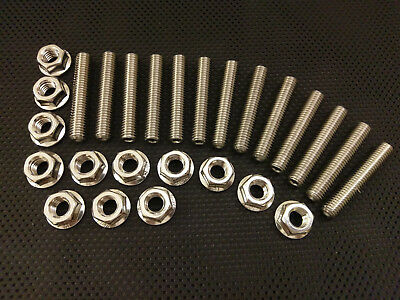 Seat Ibiza 1.8T FR Stainless Exhaust Studs and Flange Nuts 03-08 Ibiza Turbo
