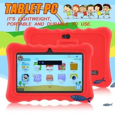 """7"""" INCH ANDROID 4.4 KIDS TABLET PC QUAD CORE 8GB 3G WIFI 2 Camera CHILD CHILDREN"""