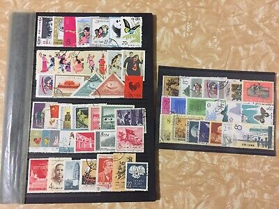 china stamps Lot used 60 stamps