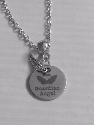 Guardian Angel Necklace Pendant. Ideal Bereavement Gift Keepsake