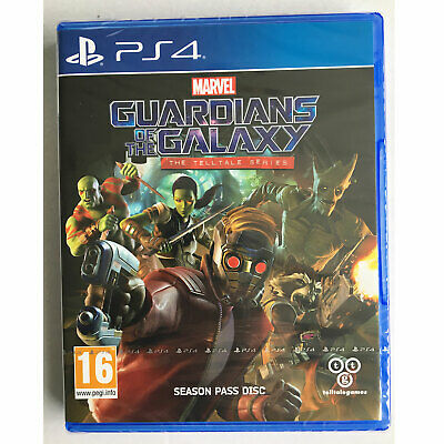 Marvel Guardians Of The Galaxy The Telltale Series (PS4) New and Sealed