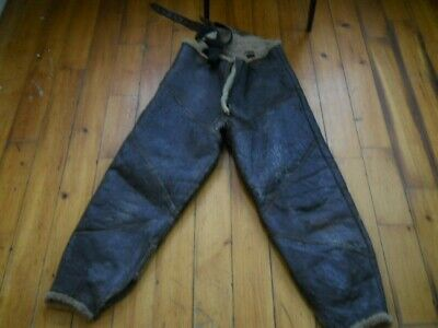 WW2 Type B-1 Leather Flyers Pants Size LARGE US Navy Army Air Corps