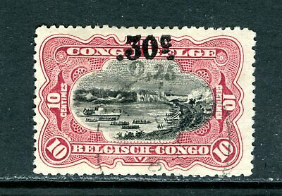 Belgian Congo 87, 1922 Surcharge, Used, No Lines  (Bec006)