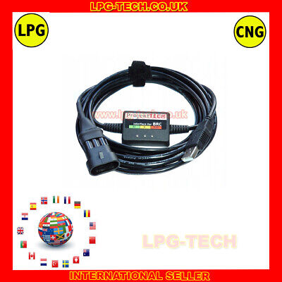 AC STAG ISA2 ISA3 LPG GPL CNG PROFESSIONAL INTERFACE USB DIAGNOSTIC KIT SOFT
