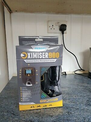 Oxford Oximiser 900 Battery Charger Scooter Motorbike EL571