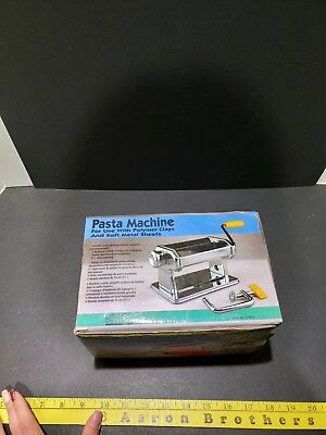 Amaco Pasta Machine for use with Polymer Clay and Soft Metal Sheets