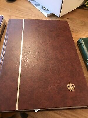 Two Stamp Albums With Uk First Issues
