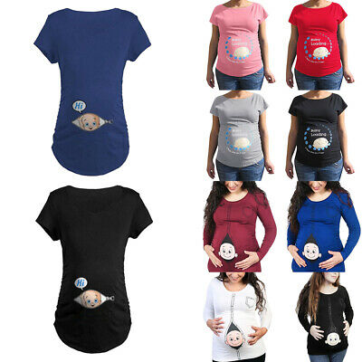 d19473b8 MATERNITY LOADING FUNNY Clothes Cute Mom Edgy Geek Cool Mommy ...