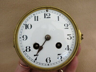 Antique Jr Pans Striking Clock Movement For Spares Reapair