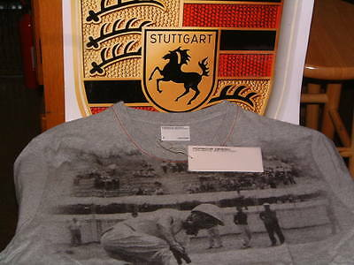Porsche Design Driver's Selection Nos Men's Heritage T-Shirt Usa Size S: Euro M