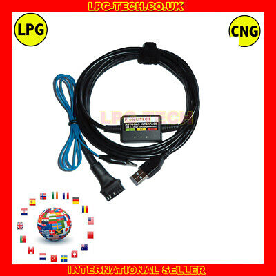 Stefanelli Sis+ Lpg Cng Autogas Tuning Diagnostic Interface + Software