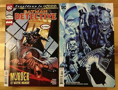 Detective Comics #995 Regular Cover & Mark Brooks Variant (DC) NM Tragic Death!