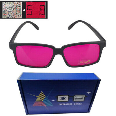 6885b0300a2e8 Square Frame Corrective Color Blind Glasses Red Green Colorblindness Outdoor