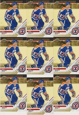 2019 2018-19 Upper Deck UD National Hockey Card Day LOT of 9 MARK MESSIER cards
