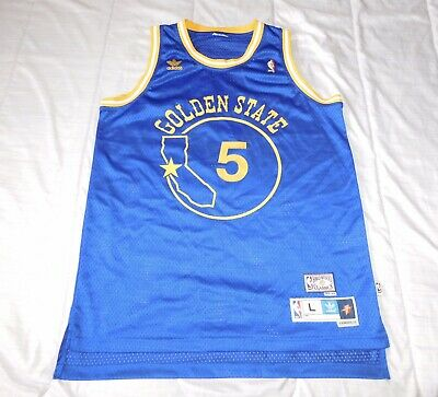e4f0cd9e Adidas Baron Davis B Diddy Hwc NBA Jersey Mens Large Golden State Warriors # 5