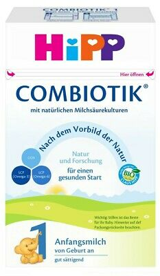 13 boxes of HiPP Stage 1 Organic Combiotic Infant Milk Formula (600g) - German