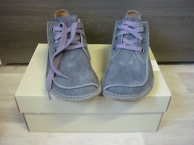 new products best supplier how to buy CLARKS ARTISAN FUNNY Dream Mauve Grey Lace Up Casual Shoes ...