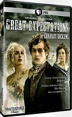 NEW DVD - PBS HOME VIDEO - BBC - GREAT EXPECTATIONS - Gillian Anderson,