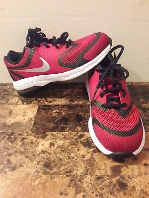 Nike Air Max Premiere Run (PS) Boys Athletic Black Red Shoes Size 1Y 716792 37e536adc