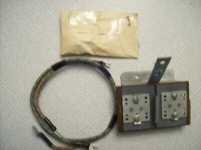 1951 Chevy wiring junction block, GM part #986442, NOS