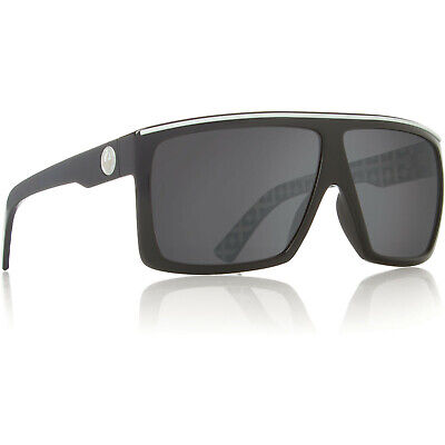 22a2dc7722 Dragon Alliance The Fame Sunglasses Palm Springs Black White Grey Smoke  Lens NEW