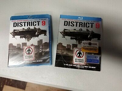District 9 (Blu-ray Disc, 2009) New and sealed!