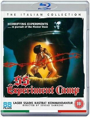 SS Experiment Camp - Blu-Ray - Uncut Collector's Edition - Sergio Garrone