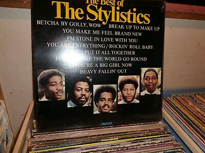 The Stylistics The Best Of   Still Sealed  Lp Record