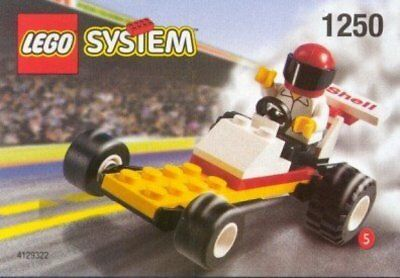 Lego 1250 DRAGSTER System Shell Promo Town City Service Station Series NEW!