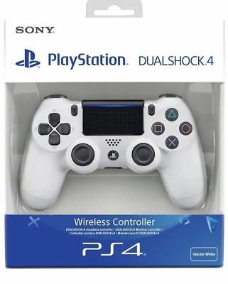 Controller Ps4 Wireless Sony Playstation Dualshock 4 V2 Nuovo Bianco White