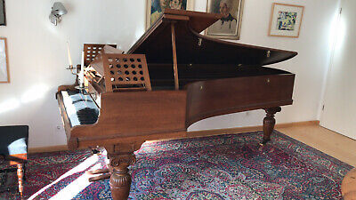 Arts & Crafts Art Cased Broadwood Flügel grand piano Klavier Alfred Waterhouse