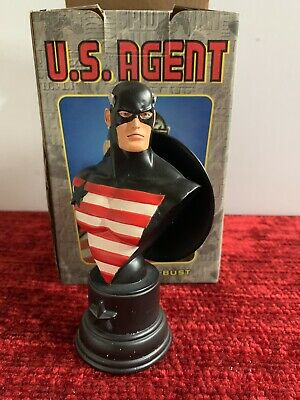 US AGENT Bowen Bust NEW RARE Avengers captain America U.S.Agent FAST SHIPPING