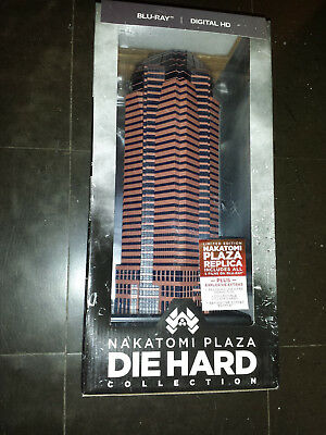 C0 The Complete Die Hard Collection Nakatomi Plaza Edition Blu-ray 6 discs New