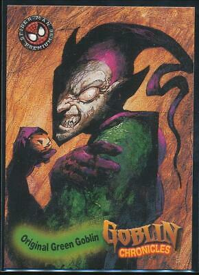 1996 Spider-Man Premium Trading Card #82 Original Green Goblin