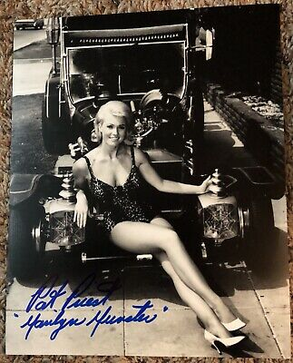 Pat Priest Marilyn Munster The Munsters Autographed 8X10 Photo #1