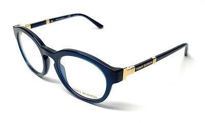 e22cc04059 New Tory Burch Ty 2076 1656 Blue Eyeglasses Authentic 48-19