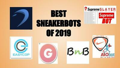 Sneaker Bot Pack - ANB AIO, BNB, Dashe, Ghost SNKRS, Supreme Slayer, Easy Cop