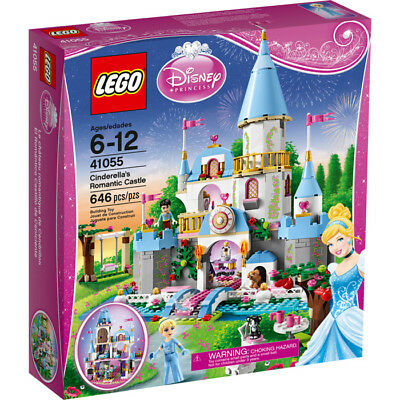 Lego Disney Princess 41055 CINDERELLA'S ROMANTIC CASTLE clock Prince NEW NISB
