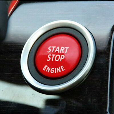 Gloss Red Start Stop Ignition Button Cover For BMW E70 E90 E92 3 Series 5 Series