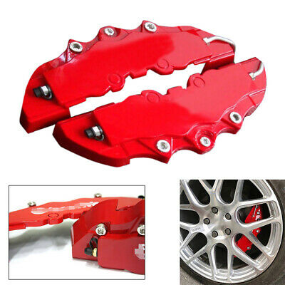 2X 250mm*65mm*40mm Car Front/Rear Wheel Brake Caliper Cover Left/Right Universal